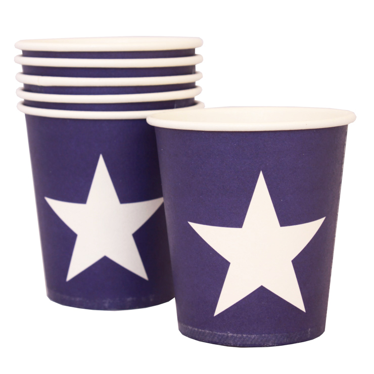Blue star cups - Hip and Hooray