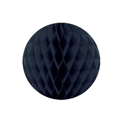 Black honeycomb ball - Ruby Rabbit Partyware