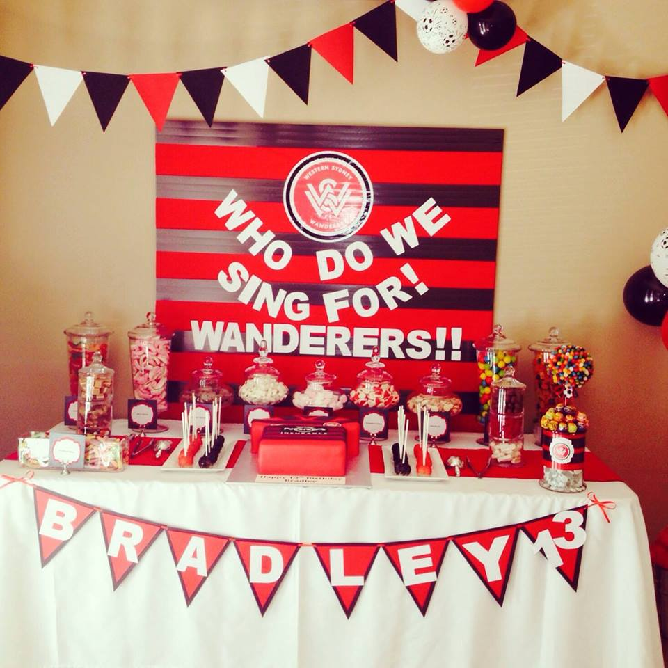 Soccer party - Bett's Candy Buffets (Sydney)