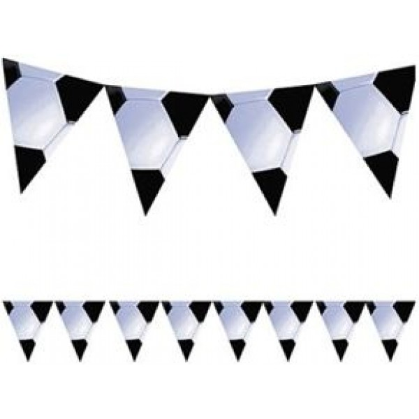 Soccer bunting - Fantasy Kids Parties