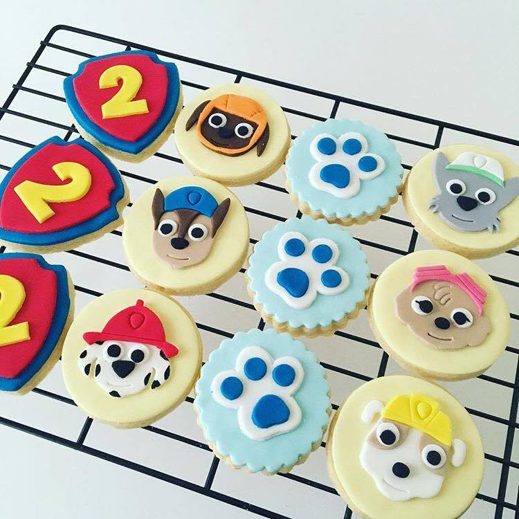 Paw Patrol cookies - Savvy Cakes by Lena (Sydney)