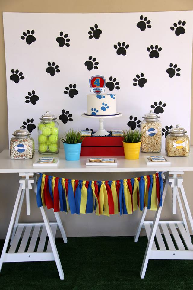 Paw patrol party - Memories Are Sweet