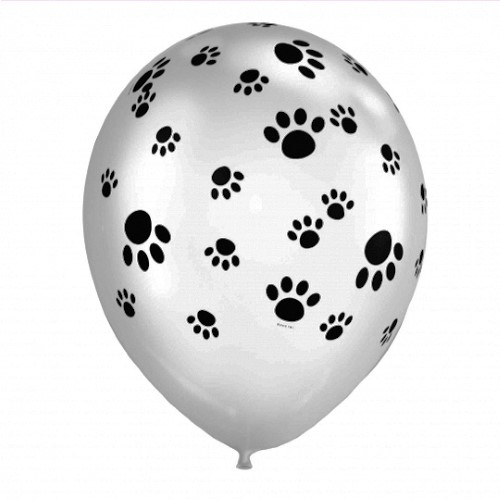 Paw print balloon - Character Parties