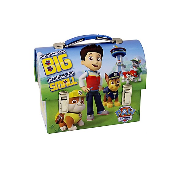 Paw Patrol favour tin box - Just Party Supplies