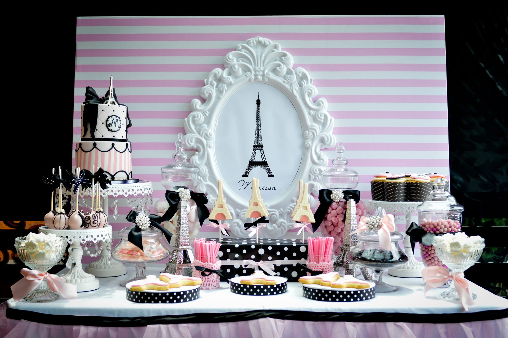 Paris pamper party - Sweet Bambini Event Styling