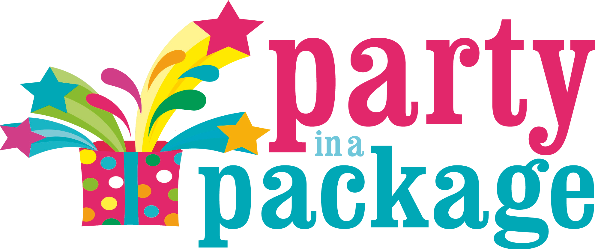 Party In A Package logo PNG