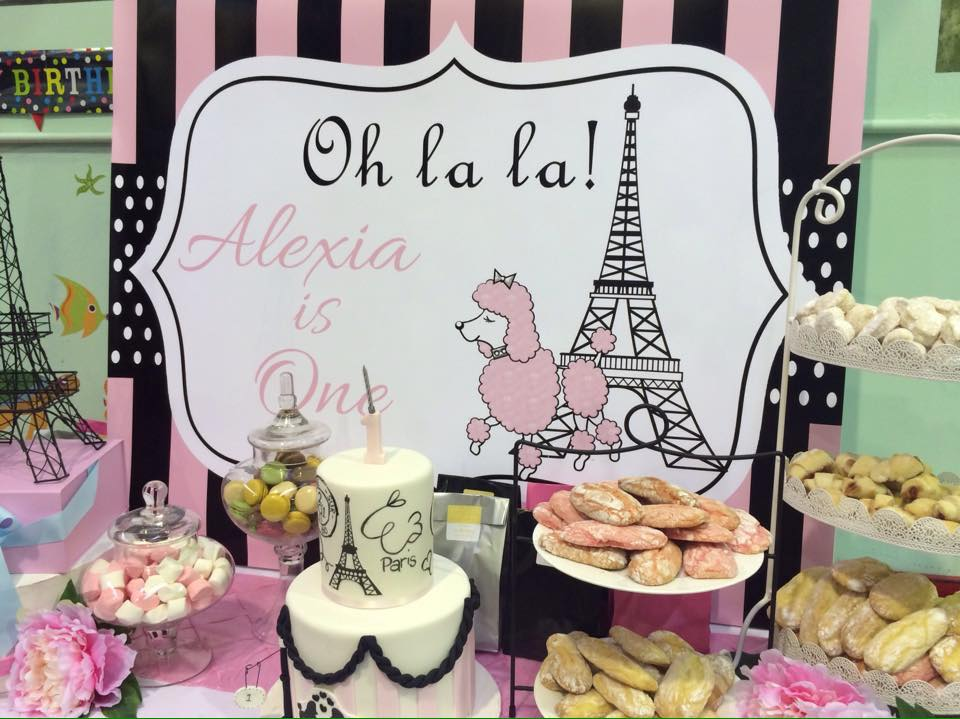 Paris Backdrop - Jo's Signs by Designs Styling by Bett's Candy Buffets and more