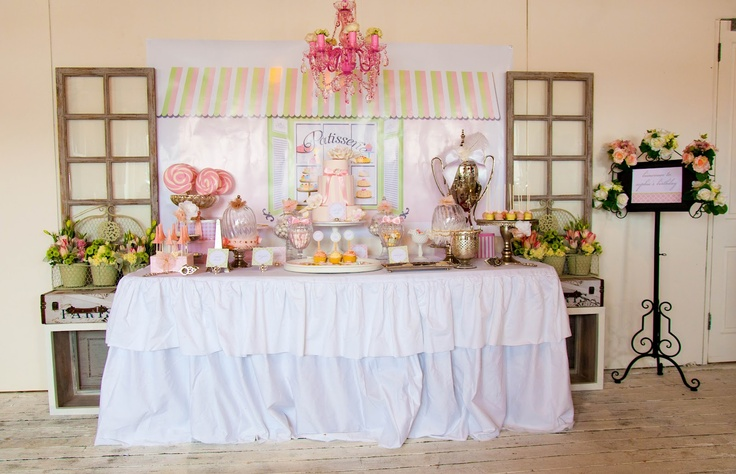 Vintage French patisserie party - The Little Big company