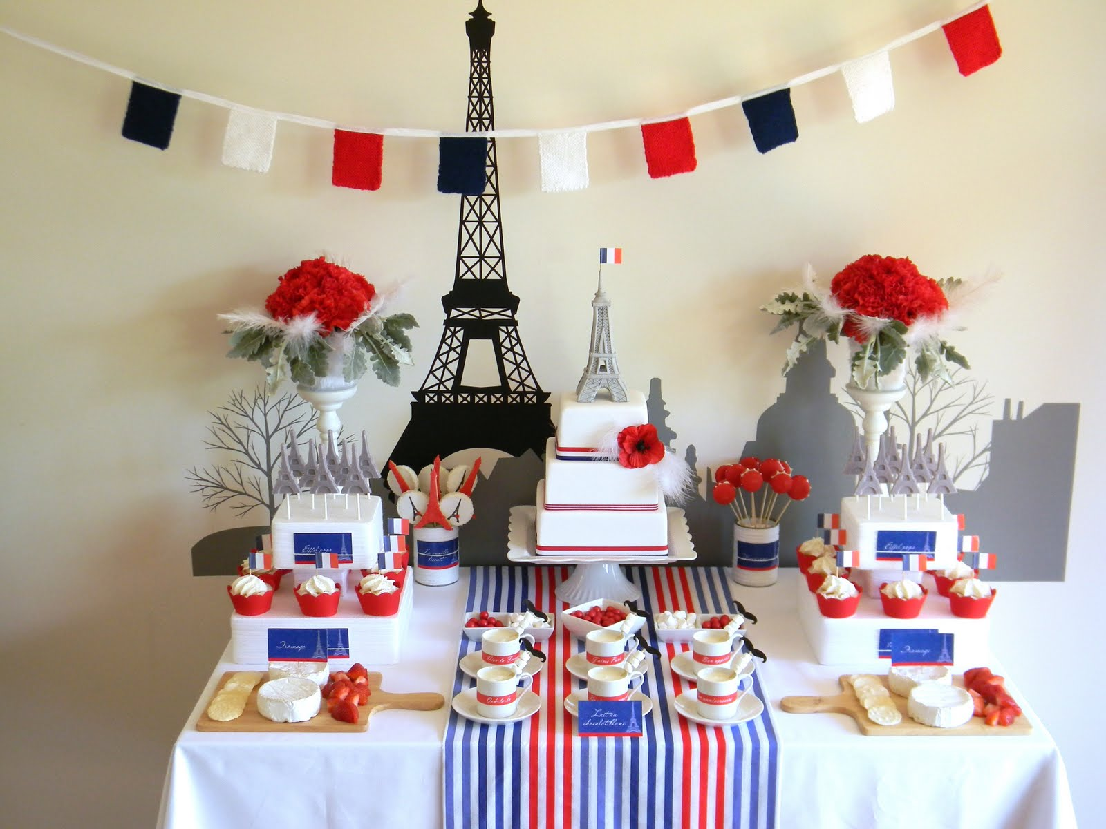 French party - Just Call Me Martha