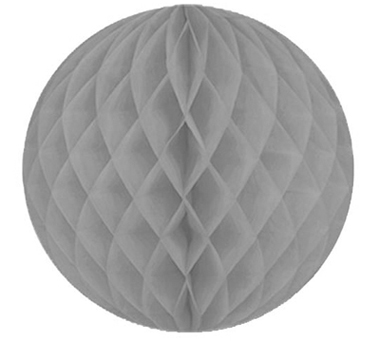 Grey honeycomb ball - Love The Occasion