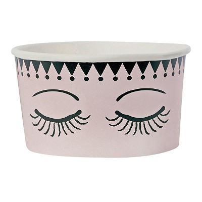 Eyes and dots icecream cup - Ruby Rabbit Partyware