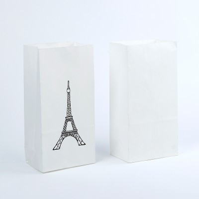 Eiffel tower favour bags - Saffy and May