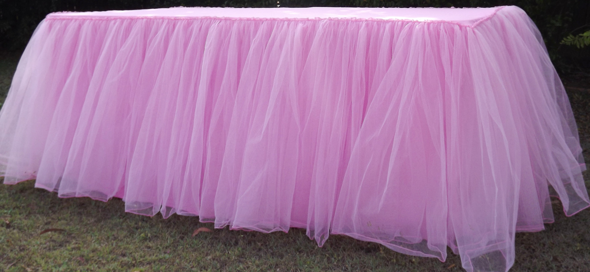 Tulle tablecloth - Saffy and May