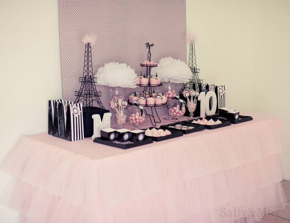 Parisian party: Styling and props by Saffy and May (Qld)