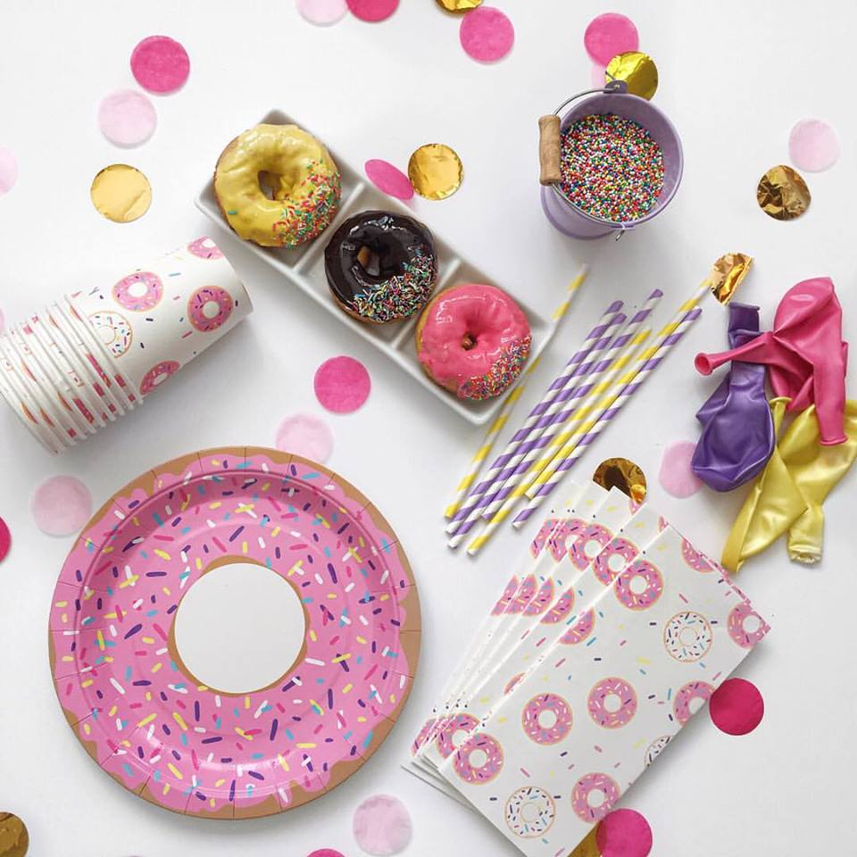 doughnut party theme