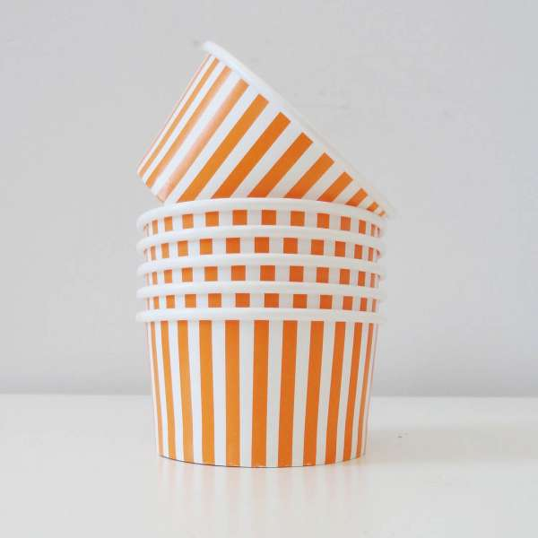Orange candy cups - The Party Parlour