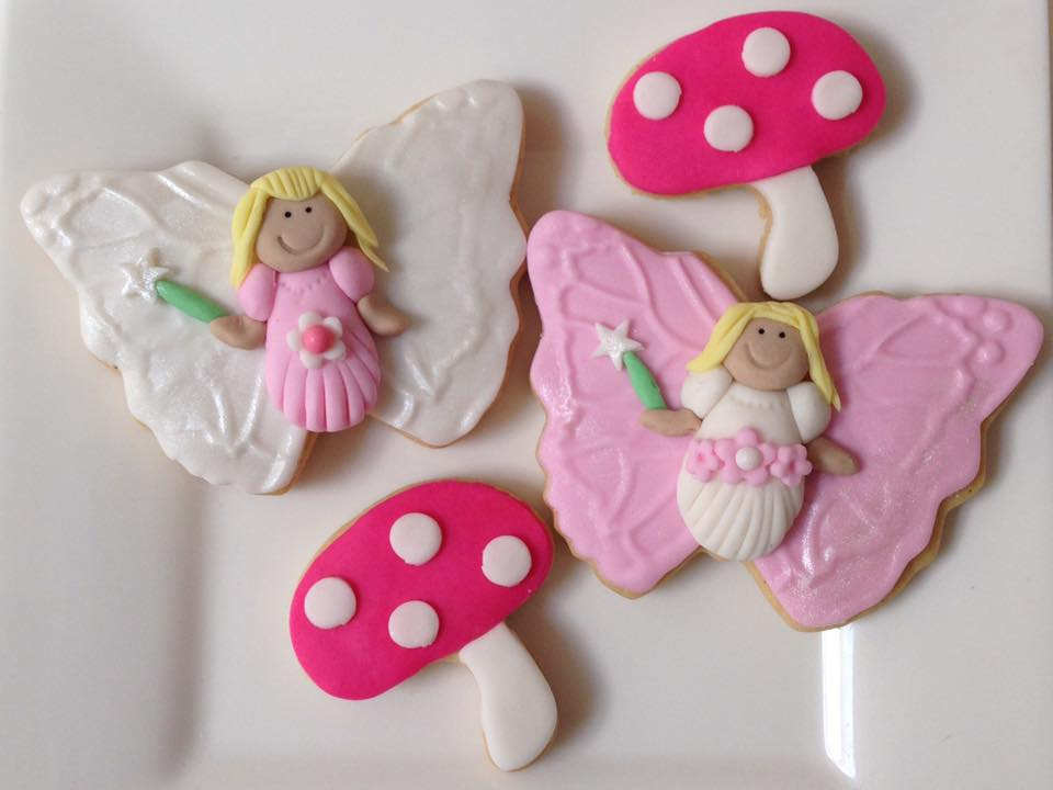 fairy themed cookies