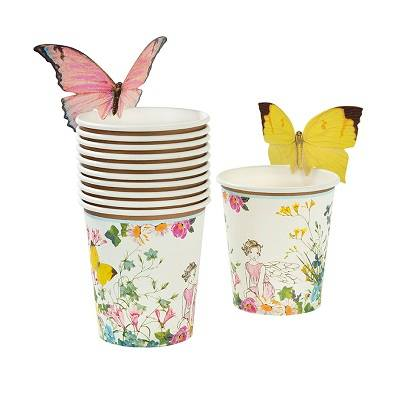 fairy themed tableware