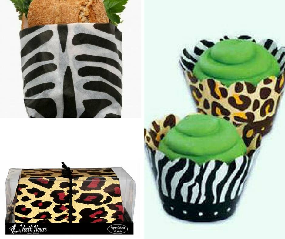 Jungle themed food wrappers - Confectionately Yours