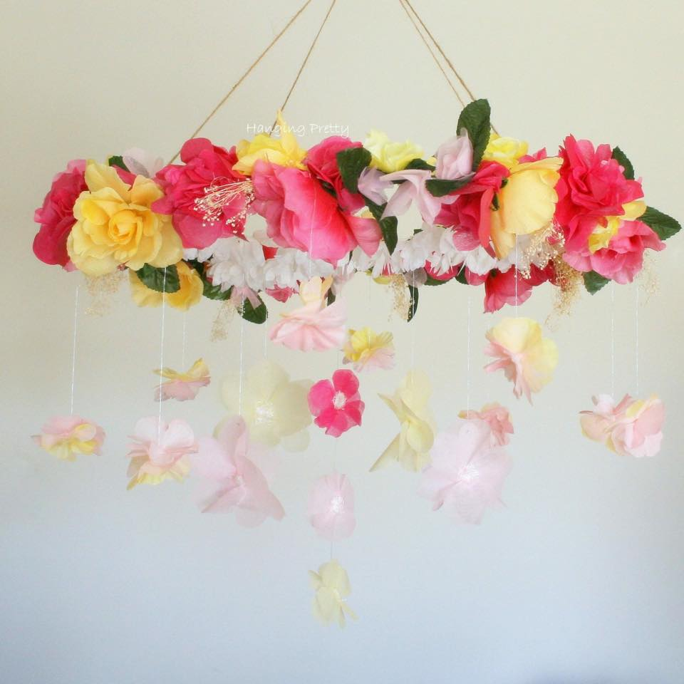 floral decorations - hanging pretty