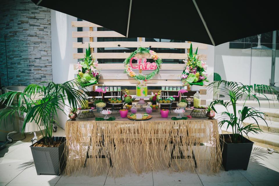 tropical party - opulenticity