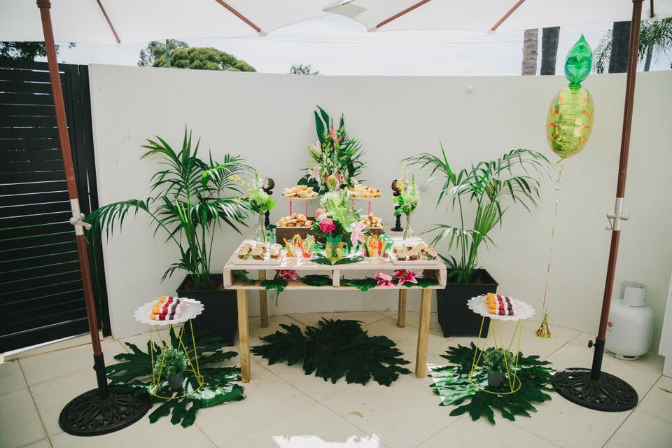 tropical party style inspo = opulenticity