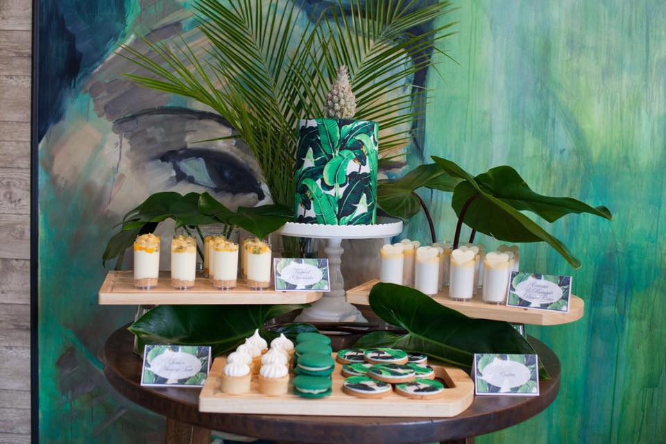 Tropical dessert table - Perfectly Sweet (Qld)