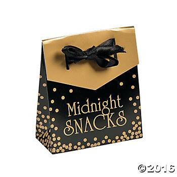 new years eve favour boxes - confectionately yours