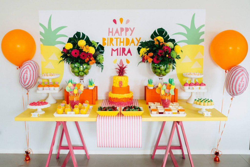 tropical party theme inspiration and finds