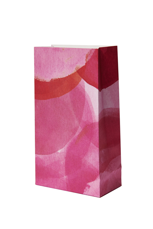 Honey pink favour bags - Hip and Hooray