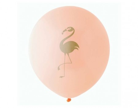 flamingo balloon - love the occasion