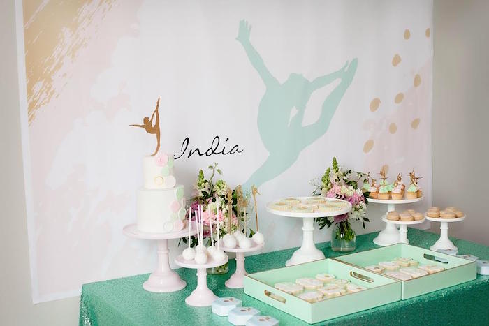 Gymnastics Party - Styled by The Little Big Company