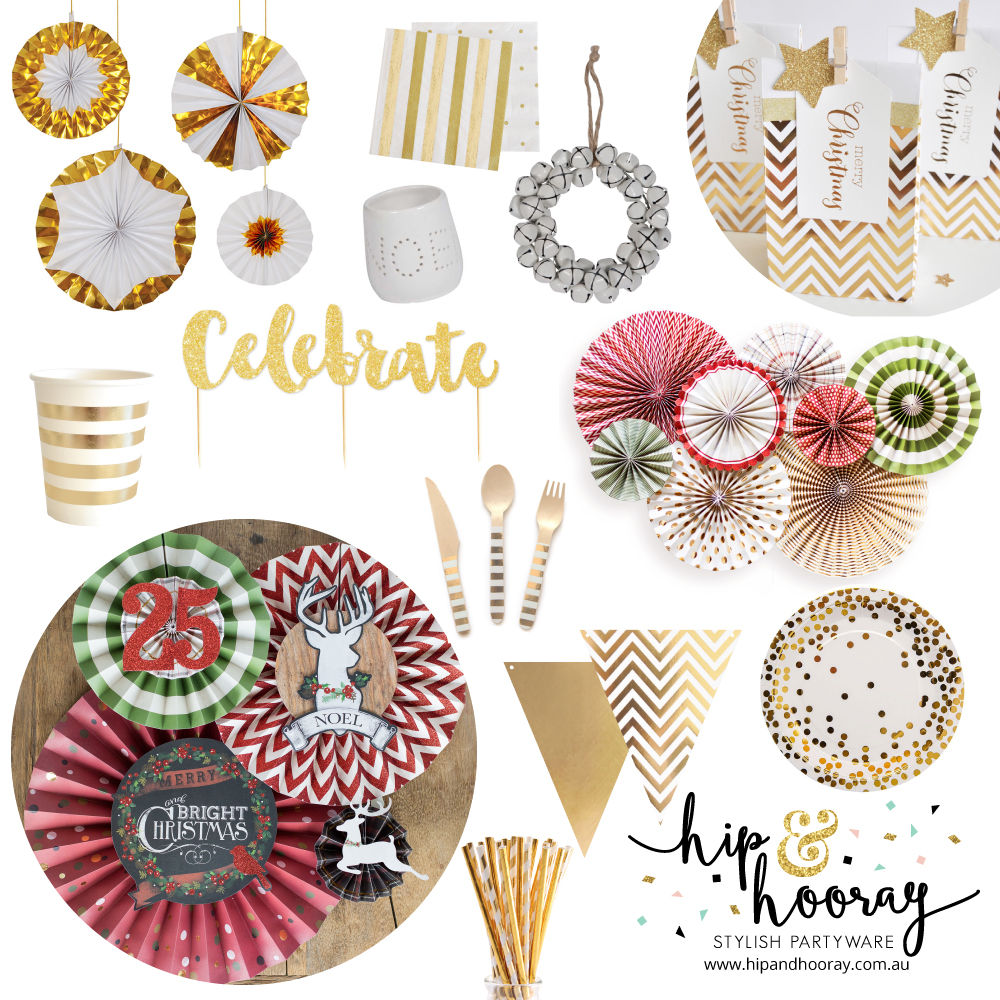 Christmas partyware - Hip and Hooray