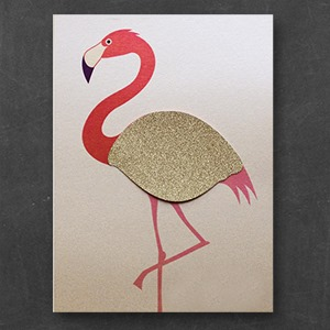 flamingo invitation - that little creative co