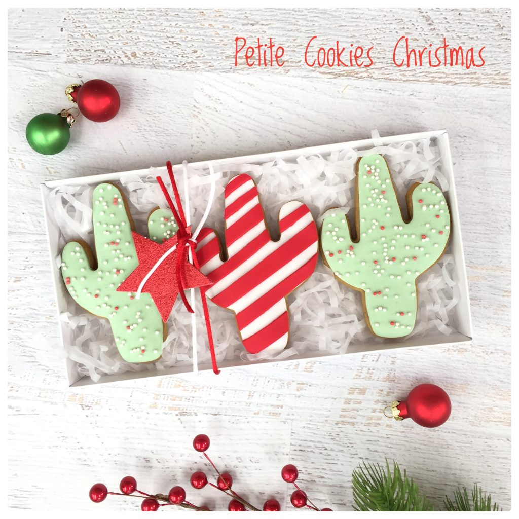 Christmas cookie gift sets - Petite Cookies (Melbourne, posts Australia wide)