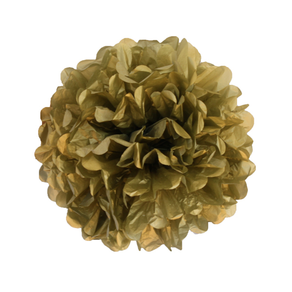 Gold tissue pom - Hip and Hooray