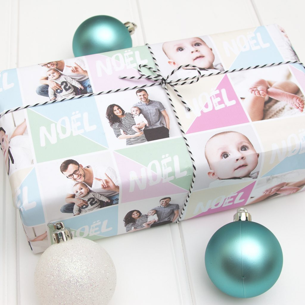 Personalised christmas wrapping paper - Love JK