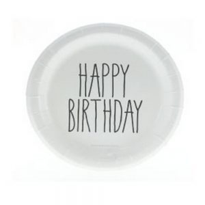 Happy birthday plate - The Little Event Co