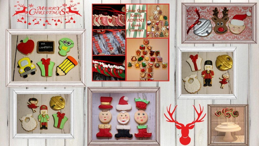 Christmas cookie gifts - Cookie Queen Kitsch'n