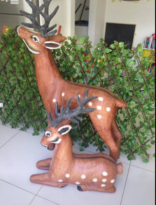 Reindeer props for hire- Tiny Tots Toy Hire Sydney