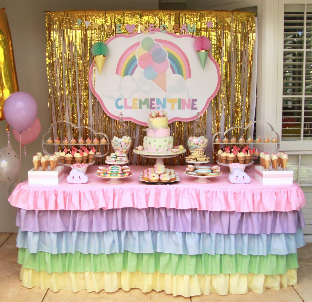 rainbow party - dream a little dream events
