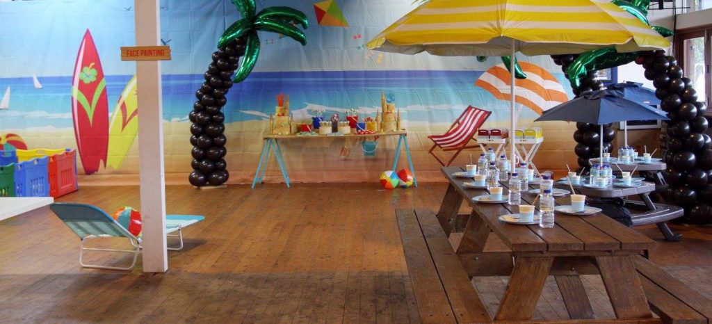 beach theme party - party in a package