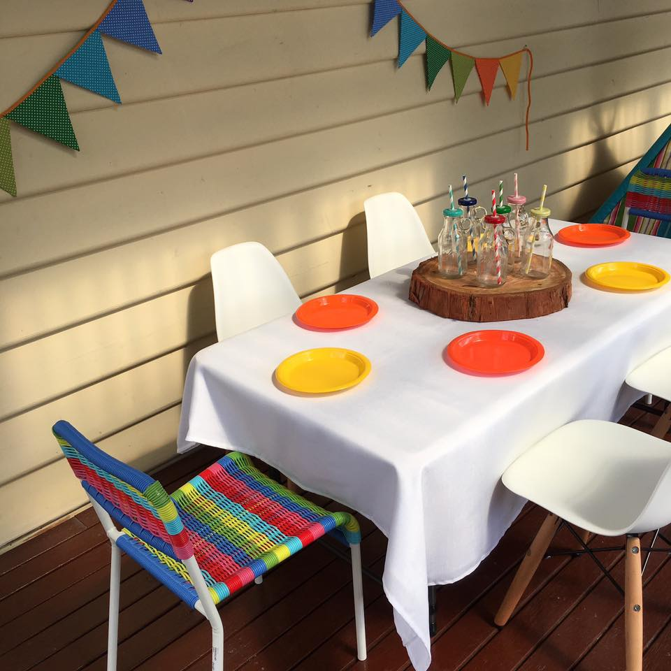 Rainbow chairs for hire - Little Giggles Party Hire (Melbourne)