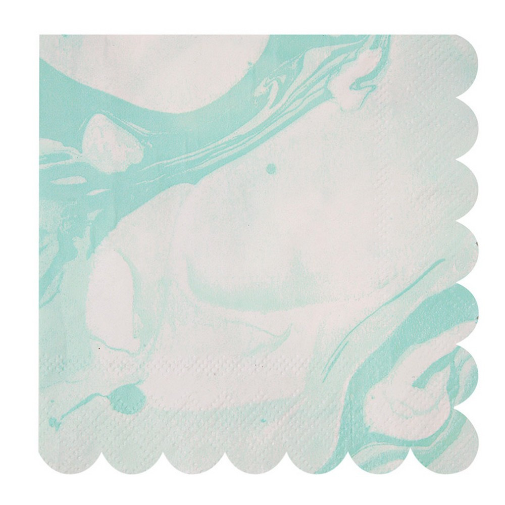 mint green napkins - the little event company