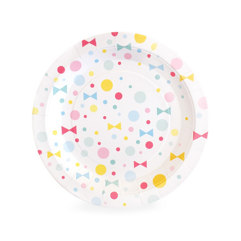 Summer bow plates - The Little Event Company