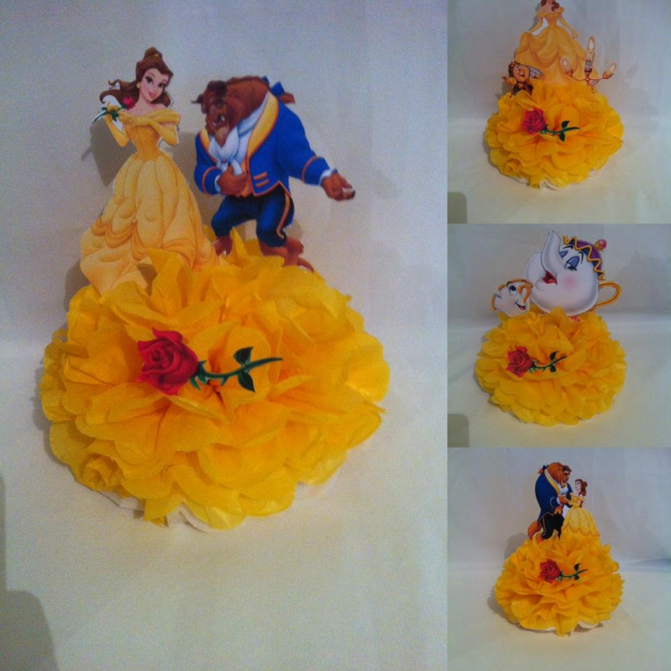 belle and the beast party