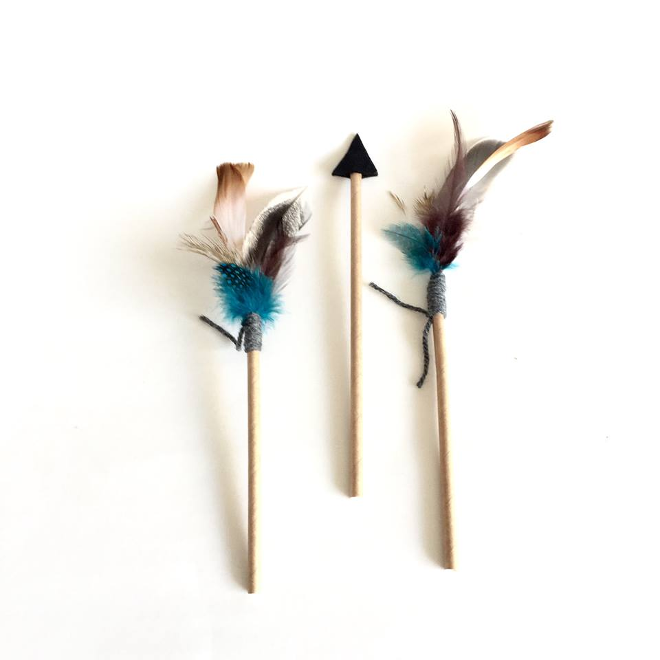 feather cake toppers