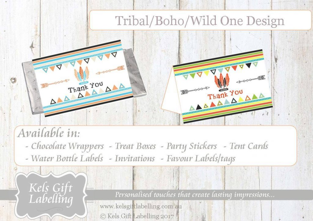 tribal party invitation ideas