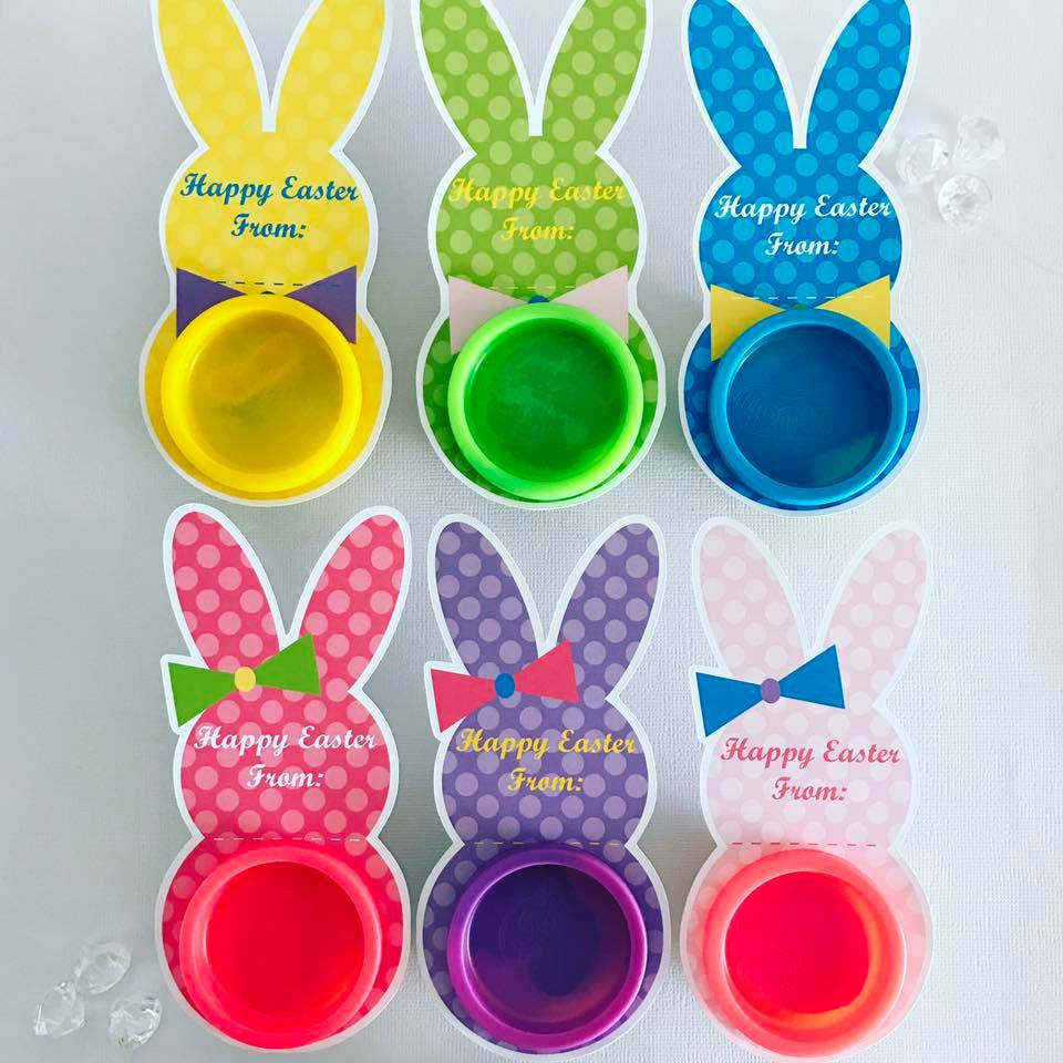 Easter celebration finds lifes little celebration easter playdoh gifts glitter and glue designs negle Gallery