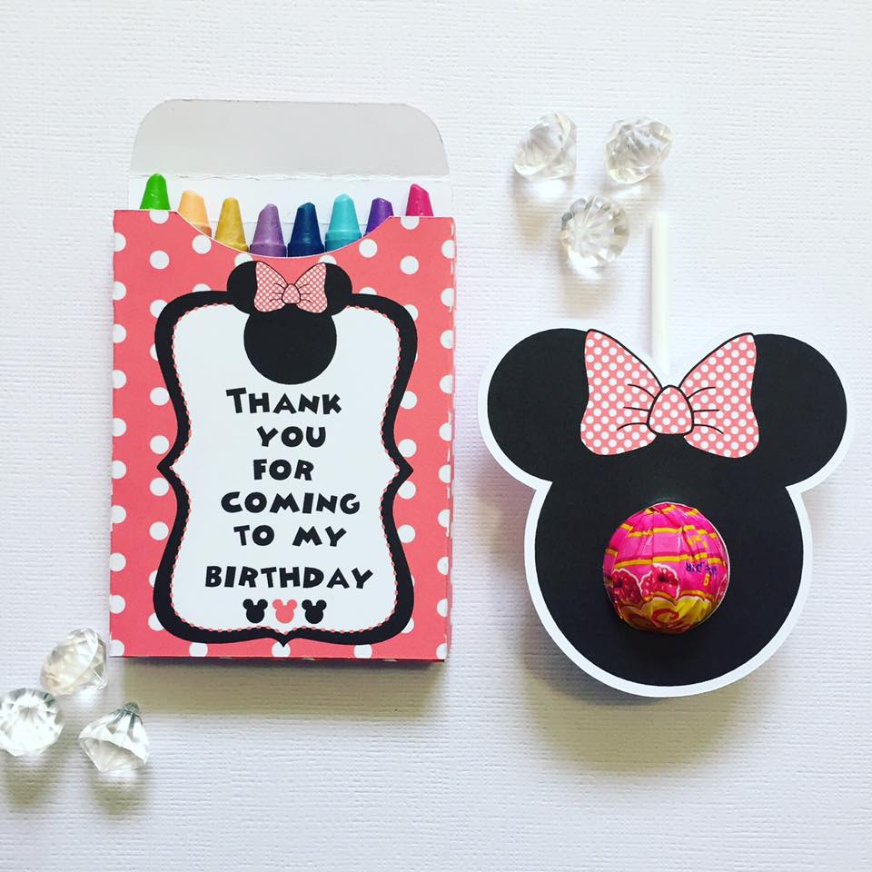 minnie mouse party favours